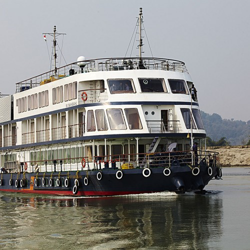Golden Triangle plus Brahmaputra Cruise Program