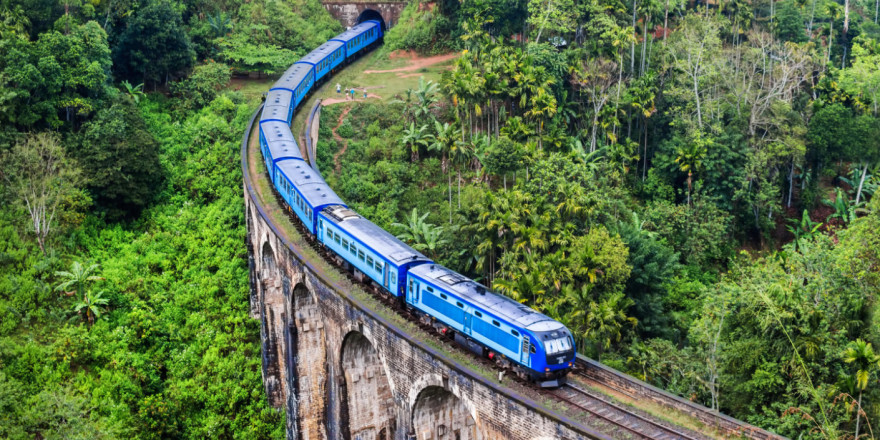 It is Nine Arch Bridge near Bandarawela, Sri Lanka