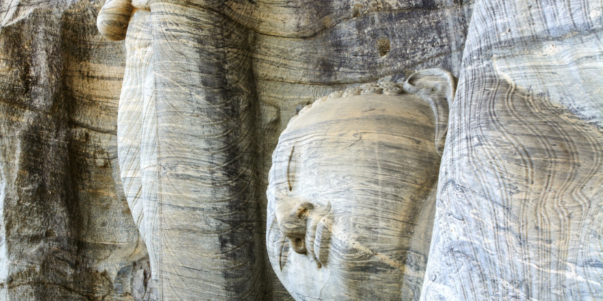 ancient buddha engraved